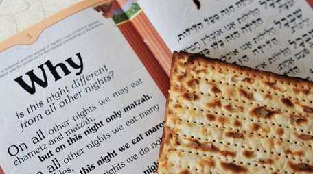 Passover rituals connect those who made the exodus