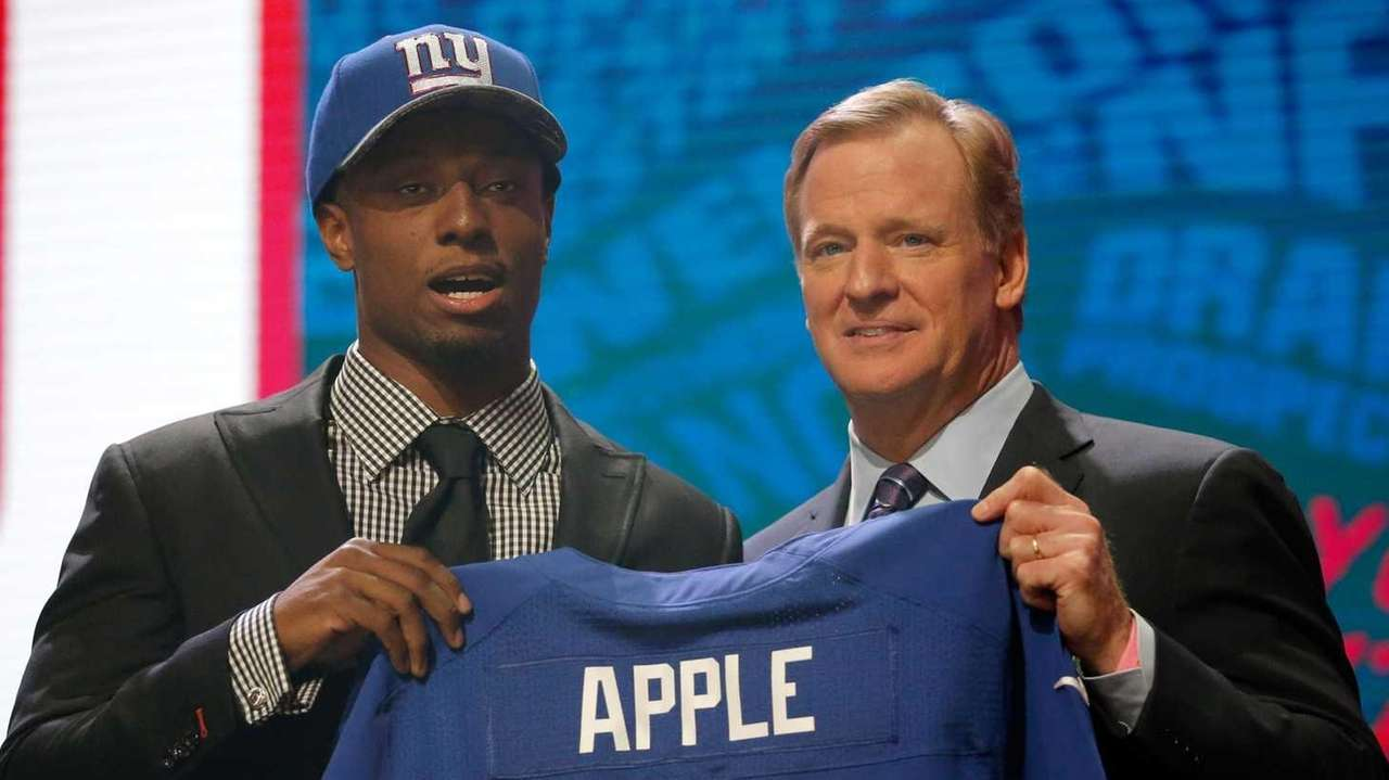 CHICAGO, IL - APRIL 28: (L-R) Eli Apple