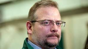 New York Jets Mike Maccagnan speaks to