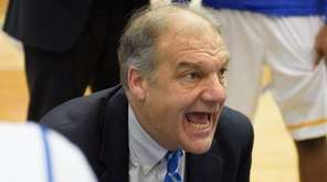 Hofstra basketball coach Joe Mihalich, here during a