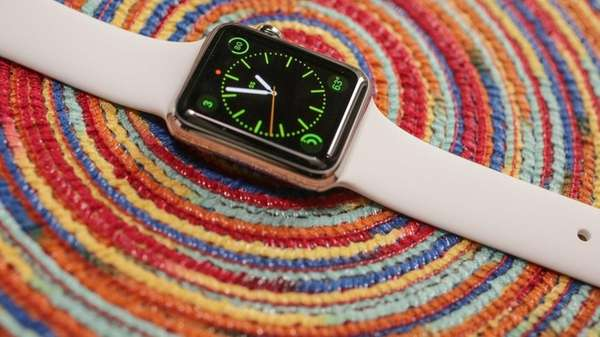 The beautifully constructed Apple watch has really good
