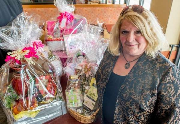Betsy's Baskets owner Betsy Maniotis, seen on April