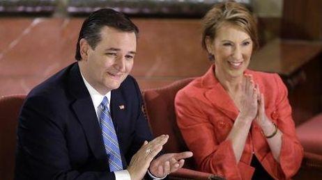 Republican presidential candidate, Sen. Ted Cruz, R-Texas, and