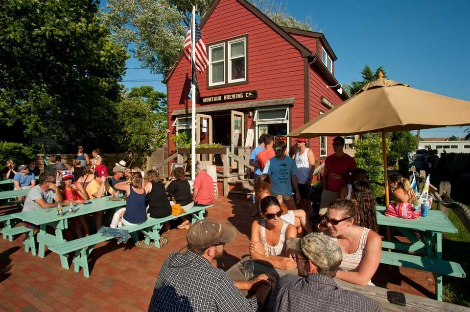 Montauk Brewing Co. ( 62 S. Erie Ave.;