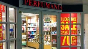 A Perfumania store.