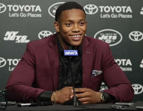 New York Jets first-round pick Darron Lee, of