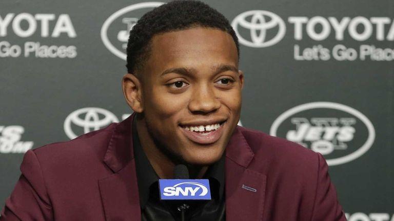 New York Jets first-round pick Darron Lee, of