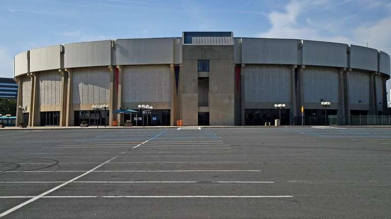 Nassau Veterans Memorial Coliseum on Aug. 3, 2015.