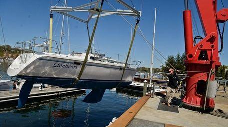 Tom Coneys of family-run Coneys Marine in Huntington