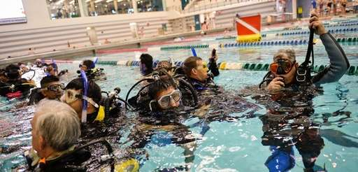 Scuba Network Long Island teaches veterans with PTSD