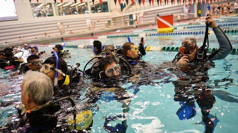 Scuba Network Long Island teaches veterans with PTSD