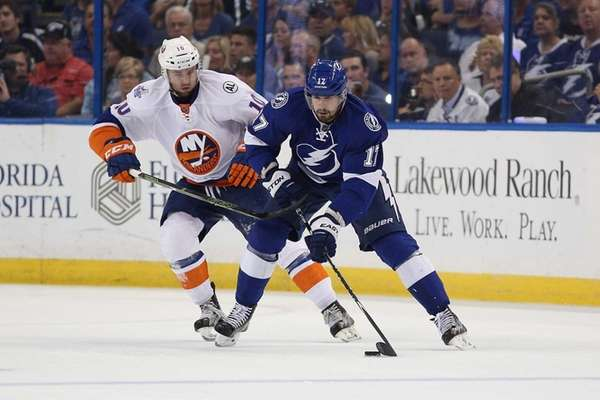 TAMPA, FL - APRIL 30: Alex Killorn #17