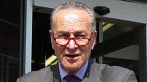 Sen. Charles Schumer, D-N.Y. is shown in this