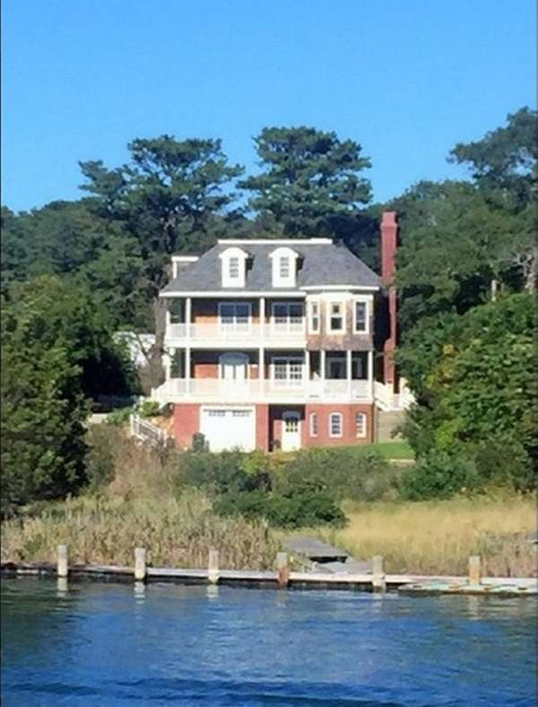 The owners of this Hampton Bays Victorian, listed