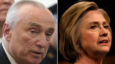 William Bratton and Hillary Clinton stressed the importance
