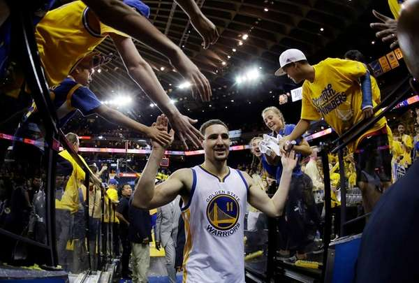 The Golden State Warriors' Klay Thompson (11)