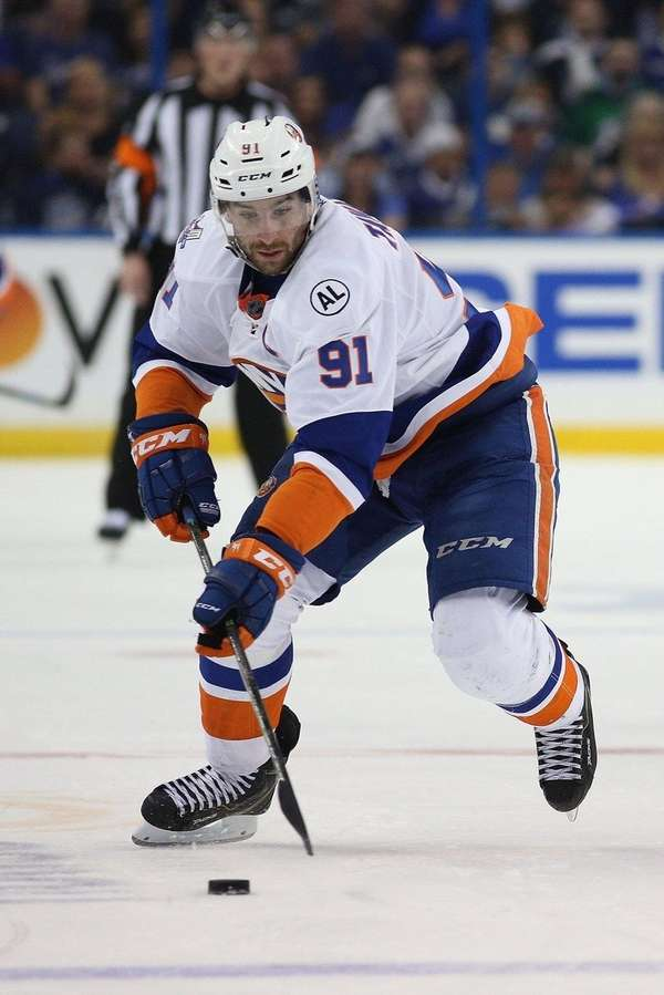 John Tavares #91 of the New York
