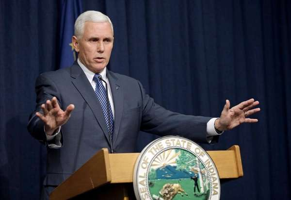 Indiana Gov. Mike Pence endorsed Sen. Ted Cruz,