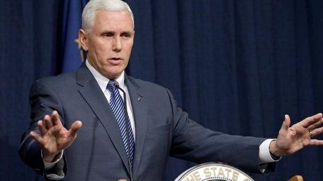 Indiana Gov. Mike Pence endorsed Sen. Ted Cruz,