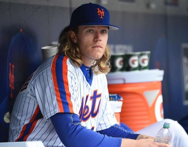 New York Mets starting pitcher Noah Syndergaard