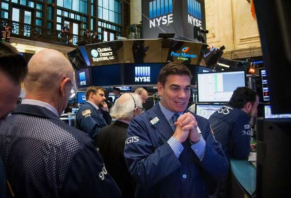 Traders who work at the New York Stock