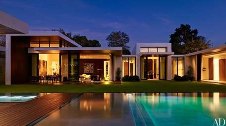 Alex Rodriguez's home is the cover feature for