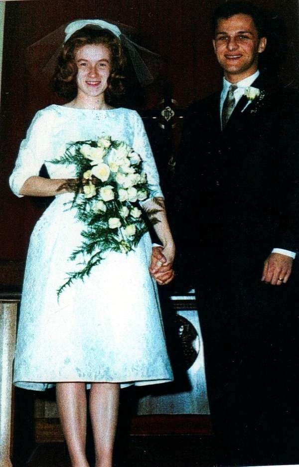 Gina and John Binder of Melville married in