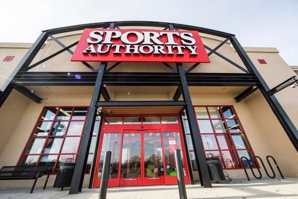 Sports Authority in Riverhead, seen on Thursday, March