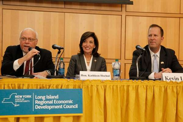 (l-r) Long Island Regional Economic Development Council Stuart