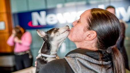 Newsday employees in Melville were surprised with a