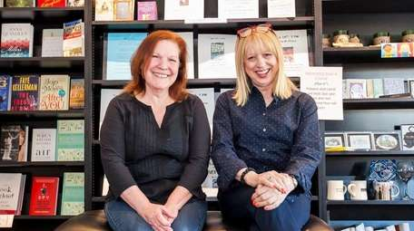 Co-owners Peggy Zieran, left, of Levittown and Carol