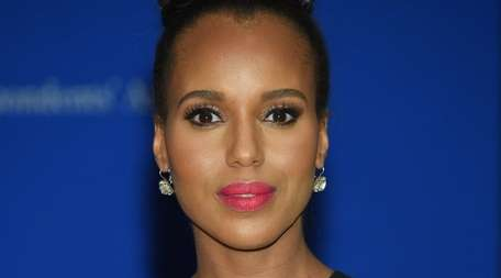 Kerry Washington was said to be visibly pregnant