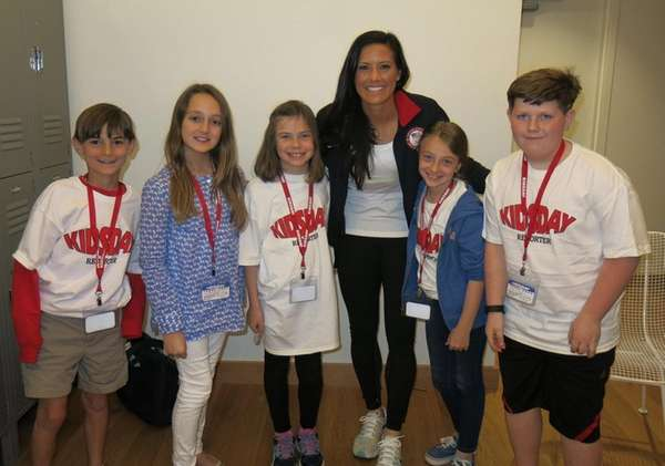 Women's National Team Soccer player, Ali Krieger with