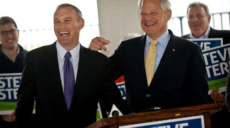 Rep. Steve Israel (D-Huntington) endorses Suffolk County Legis.