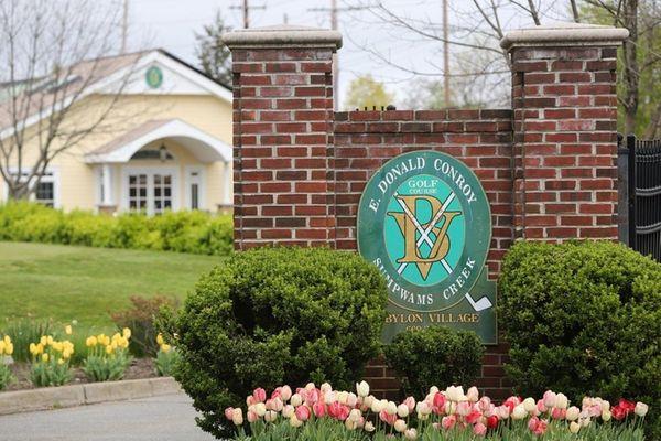 Entrance to the E. Donald Conroy Golf Course,