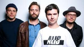 Magnus Larsson, left, Kasper Daugaard, Lukas Graham and