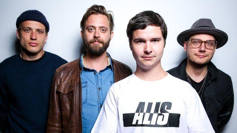 Magnus Larsson, left, Kasper Daugaard, Lukas Graham and