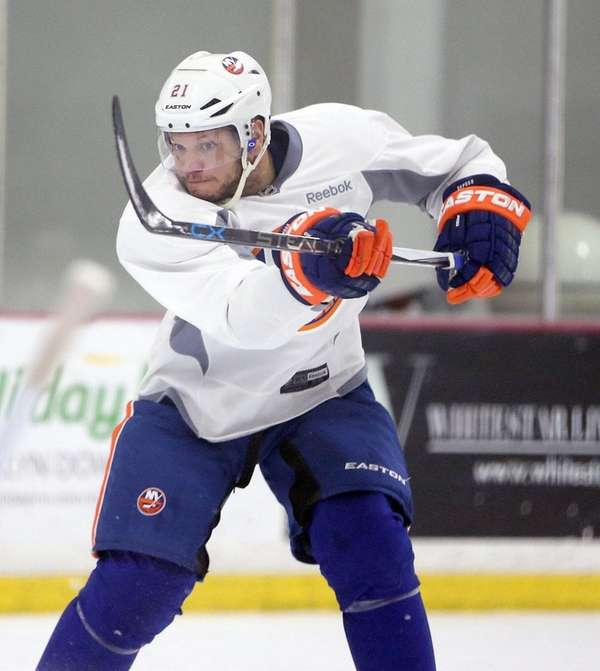 Kyle Okposo takes a shot at Islanders