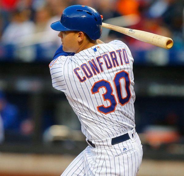 Michael Conforto #30 of the New York
