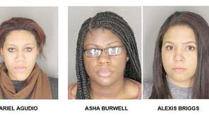 An Albany County grand jury indicted, from left,
