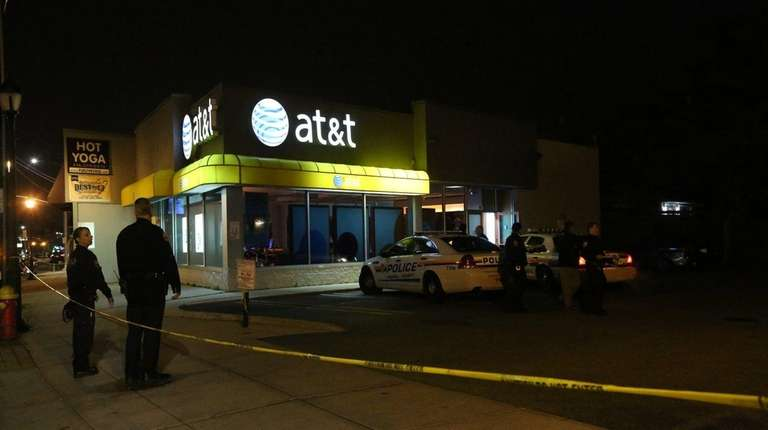 Nassau Police investigate an armed robbery at the