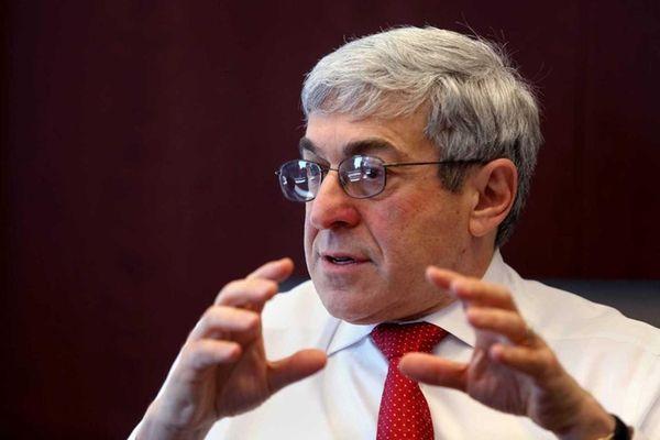 Henry Schein CEO Stanley Bergman in Manhattan on
