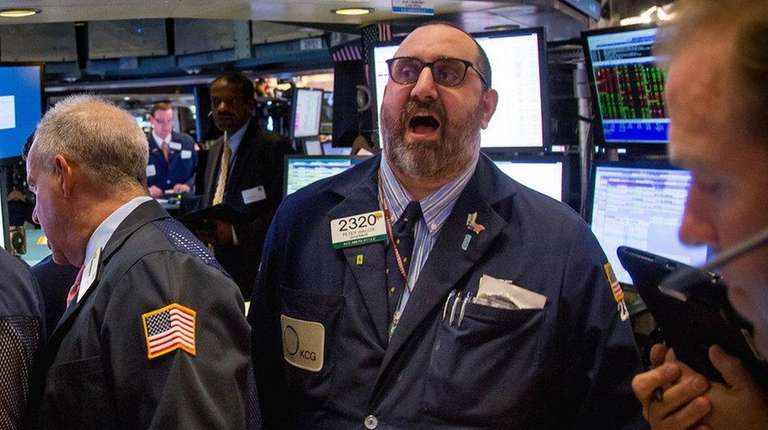 Stocks slid Tuesday, May 3, 2016. These traders