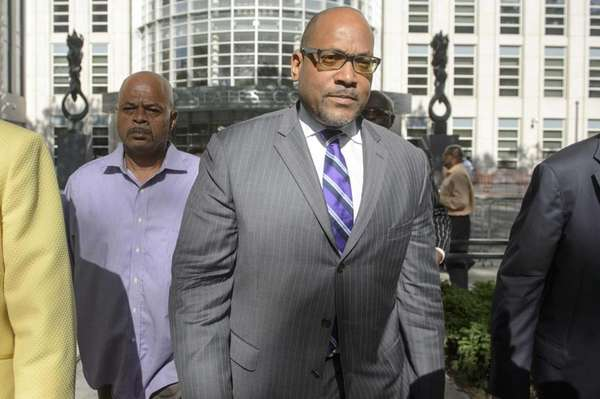 Sen. John Sampson (D-Brooklyn) was convicted in 2015