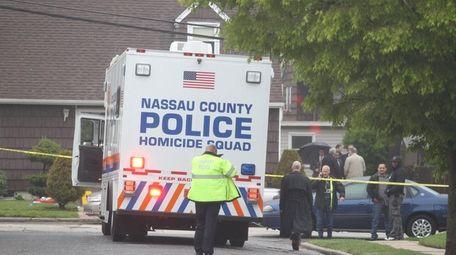 Nassau County police homicide squad, with Freeport police,