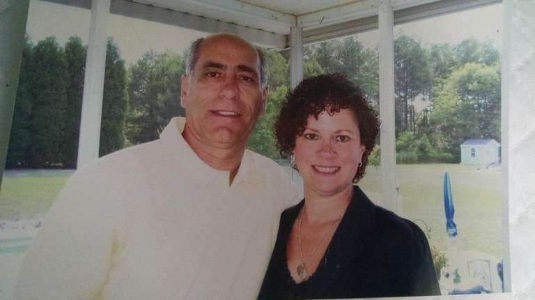 Judy DiGabriele-Iannotti, here with her husband, Patrick, says