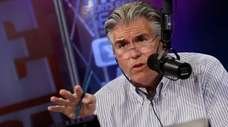 WFAN's Mike Francesa, shown during 2012, had a