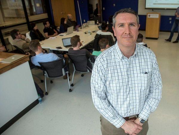 Hofstra's new Center for Entrepreneurship executive dean Mark