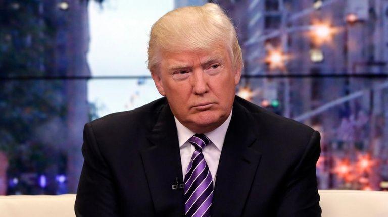 Dan Janison: Even as Donald Trump's departures from