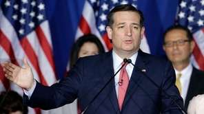 Senator Ted Cruz has suspended his presidential campaign